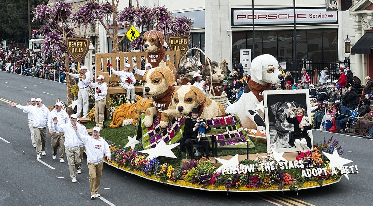 2018 Pasadena Rose Parade
