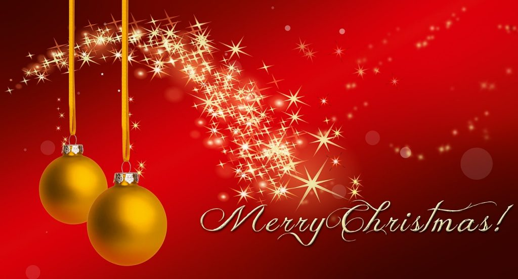 we wish each of you a merry christmas and a blessed upcoming new year we ask god to bless you and look after you this season and grant you favor into 2017